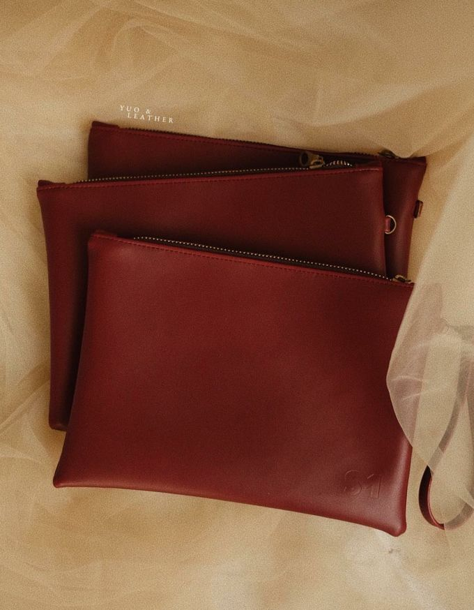 Sin And Mira Pouch by Yuo And Leather - 003