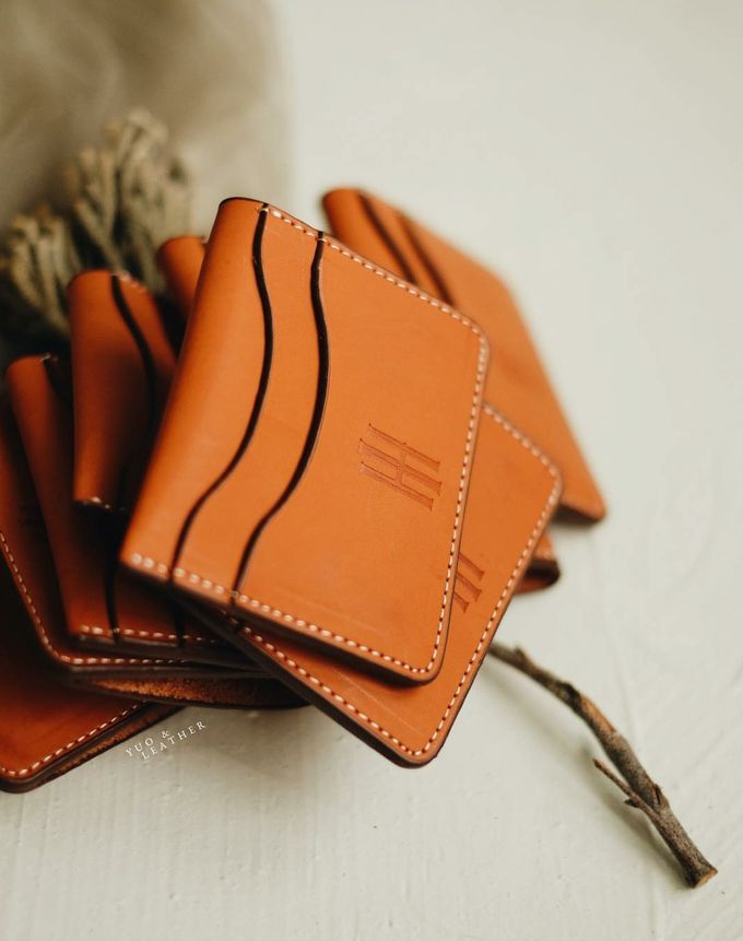 Hendra And Indri Card Holder by Yuo And Leather - 001