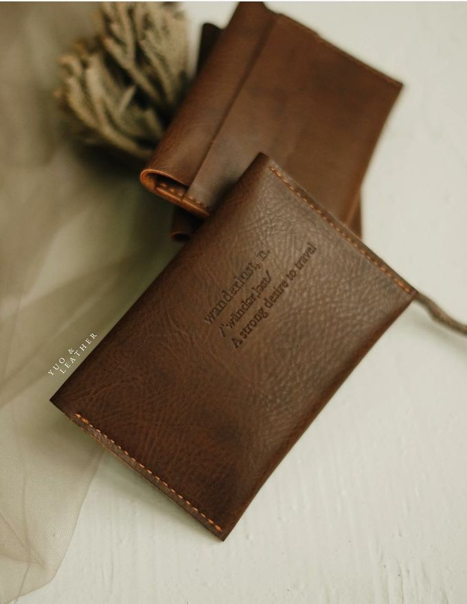 Liyento And Fauziah Card Holder by Yuo And Leather - 002