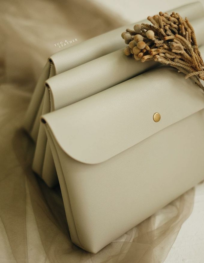 Antonio Nadya Simple Pouch by Yuo And Leather - 002