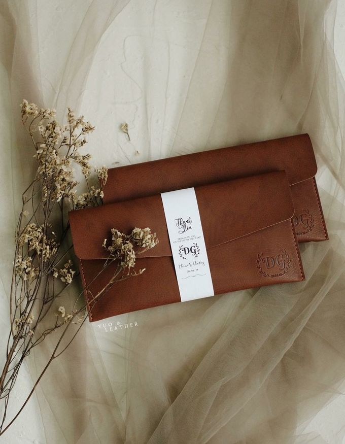 Dhini & Gerry Simple Wallet by Yuo And Leather - 003