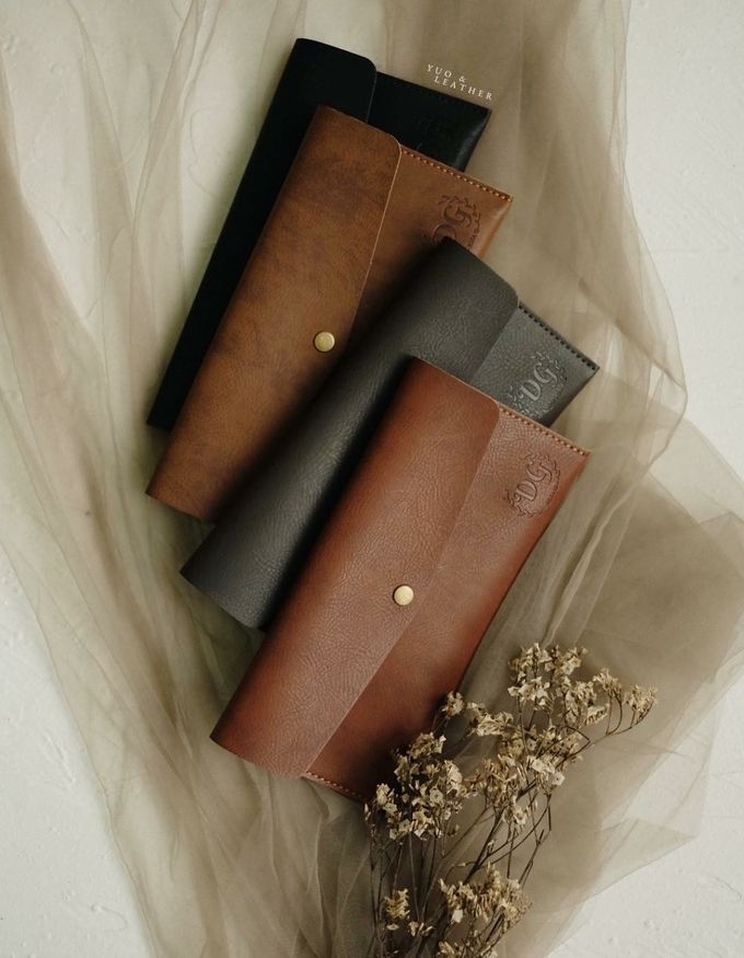 Dhini & Gerry Simple Wallet by Yuo And Leather - 006