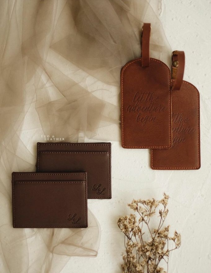 Luigi Lillian Luggage Tag & Card Holder by Yuo And Leather - 001