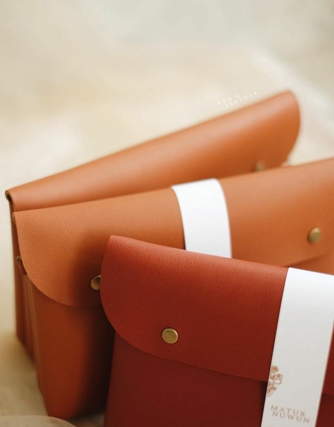 Dian Fikri Simple Pouch by Yuo And Leather - 001
