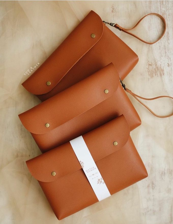 Dian Fikri Simple Pouch by Yuo And Leather - 002