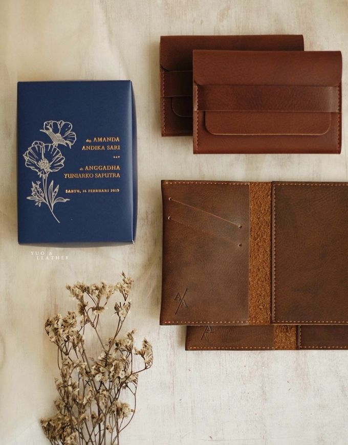 Anggadha & Amanda Wallet by Yuo And Leather - 005