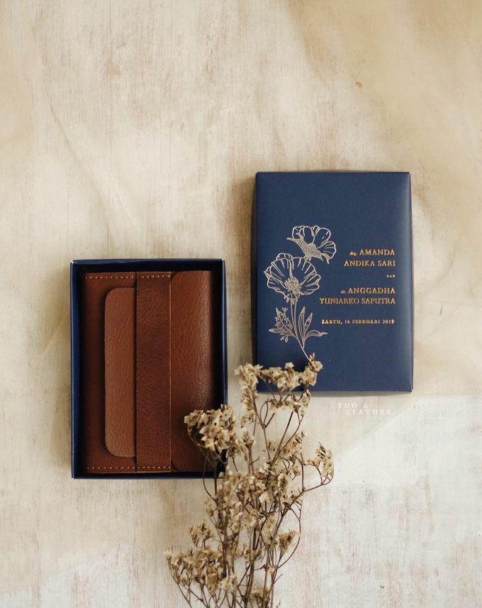 Anggadha & Amanda Wallet by Yuo And Leather - 001