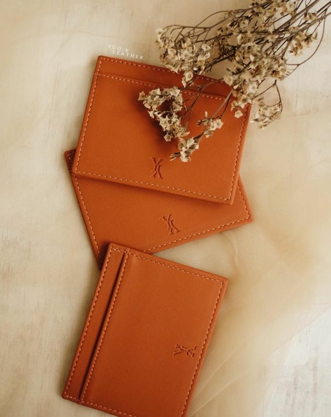 Yohanes Yulia Card Holder by Yuo And Leather - 001