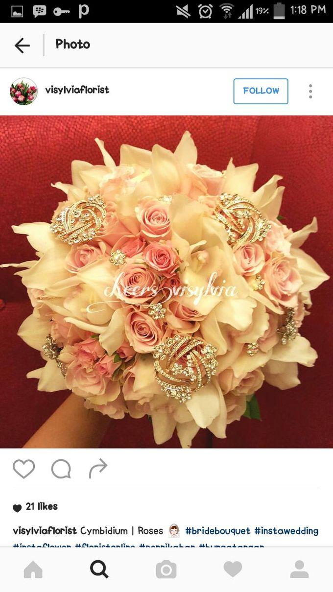 WEDDING BOUQUET  by visylviaflorist - 013