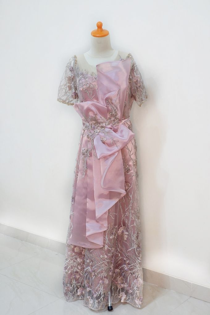 Mom Dress Wedding Of Mr Hartanto & Mrs Deasy by Cleome Usher - 001