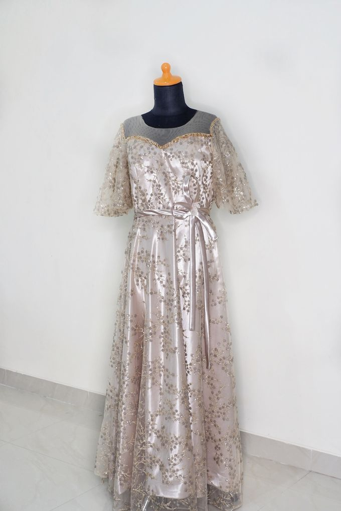 Mom Dress For Holy Matrimony by Cleome Usher - 001
