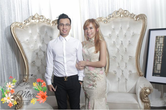 LEE & MOA WEDDING by snaphot official photobooth - 006