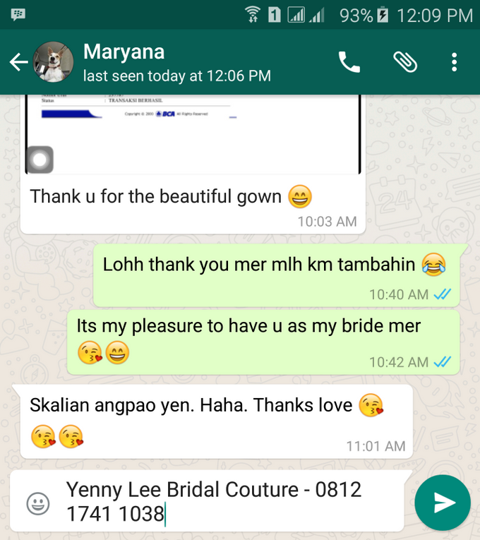 Testimonial by Yenny Lee Bridal Couture - 011