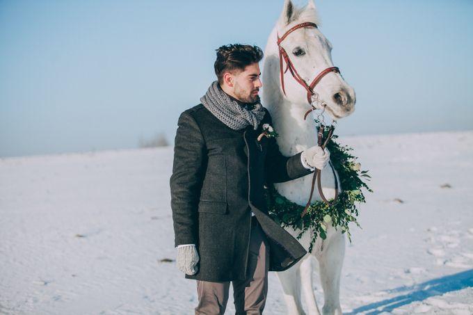 Wedding In Gzhel Style by Marina Nazarova Photographer - 020