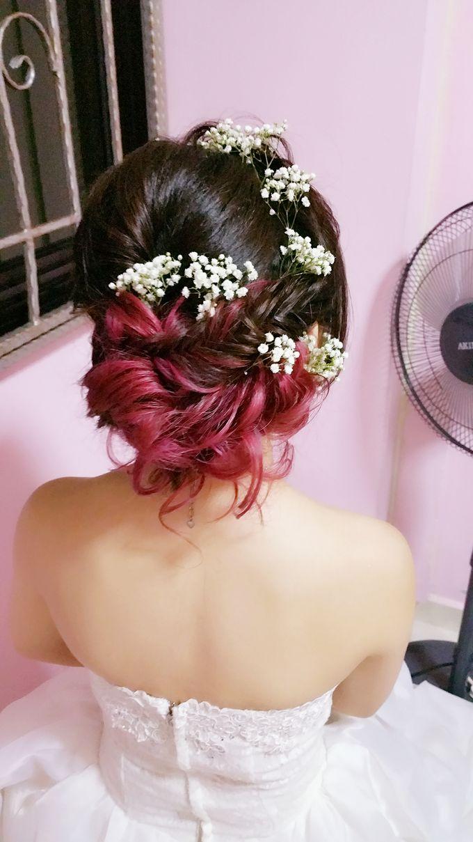 Wedding Makeup & Hairstyling  by Weiyee-makeup - 001
