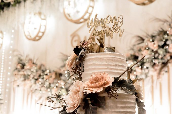 The Wedding of Winson & Jennifer by KAIA Cakes & Co. - 030