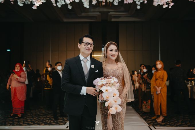 The Wedding of Khalisha & Charlie by Sheraton Grand Jakarta Gandaria City Hotel - 014