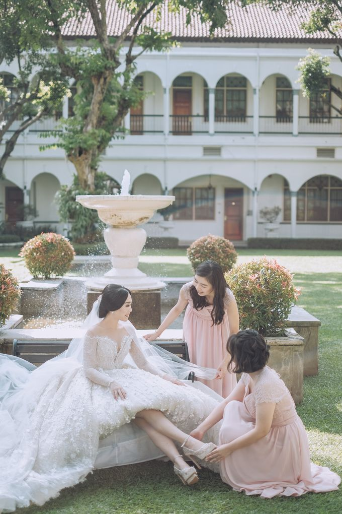 Wedding Of Soepartono & Francesca by All Occasions Wedding Planner - 012