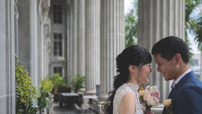 Rom Wedding by Jennis Wong Makeup - 003