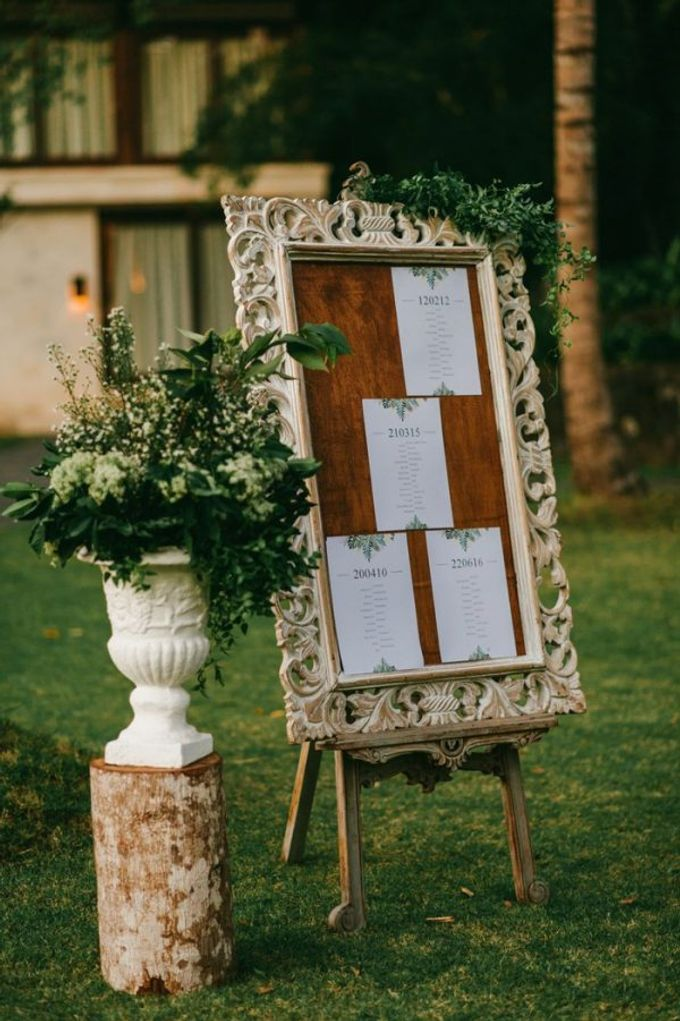 Sophisticated Jungle Wedding by Bloomz - 012
