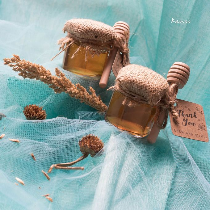 Wedding Souvenir - Honey in Jar Rustic by Kanoo Paper & Gift - 002