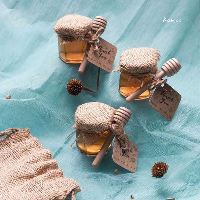 Wedding Souvenir - Honey in Jar Rustic by Kanoo Paper & Gift - 005