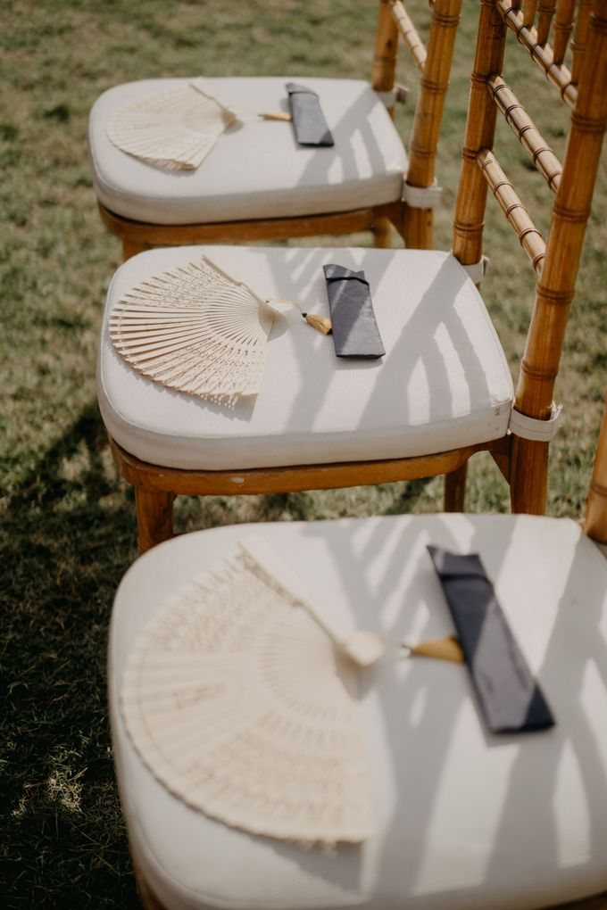 Rustic & Modern Wedding with a hint of Navy at Sinaran Surga Villa Bali by Silverdust Decoration - 007
