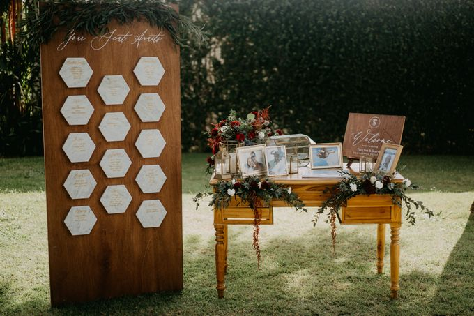 Rustic & Modern Wedding with a hint of Navy at Sinaran Surga Villa Bali by Silverdust Decoration - 008