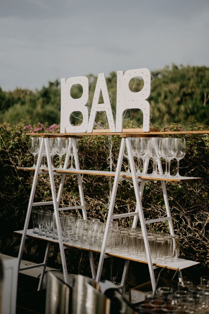 Rustic & Modern Wedding with a hint of Navy at Sinaran Surga Villa Bali by Silverdust Decoration - 010