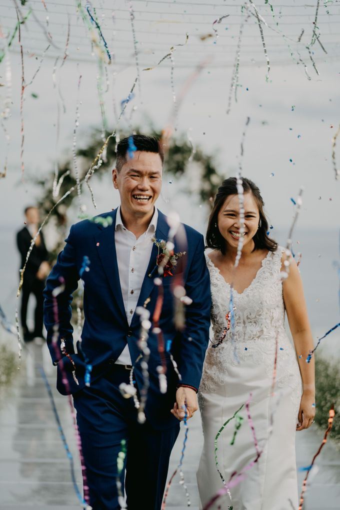 Rustic & Modern Wedding with a hint of Navy at Sinaran Surga Villa Bali by Silverdust Decoration - 011