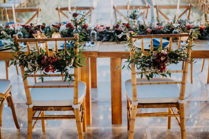 Rustic & Modern Wedding with a hint of Navy at Sinaran Surga Villa Bali by Silverdust Decoration - 015