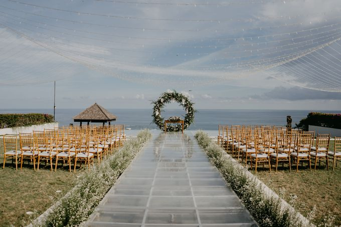 Rustic & Modern Wedding with a hint of Navy at Sinaran Surga Villa Bali by Silverdust Decoration - 019