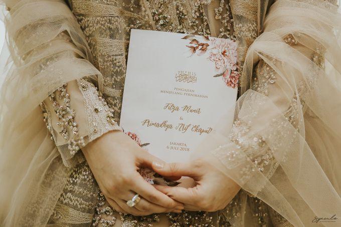 AKAD DAN RESEPSI FILZA & PRIMA by One Heart Wedding - 004