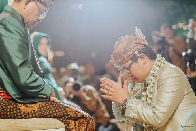 AKAD DAN RESEPSI FILZA & PRIMA by One Heart Wedding - 012
