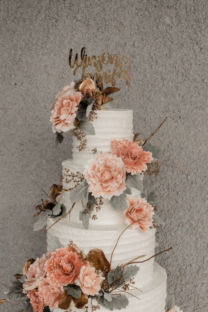 The Wedding of Winson & Jennifer by KAIA Cakes & Co. - 031