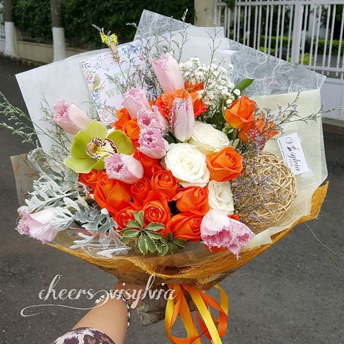 Gift Bouquet  by visylviaflorist - 016