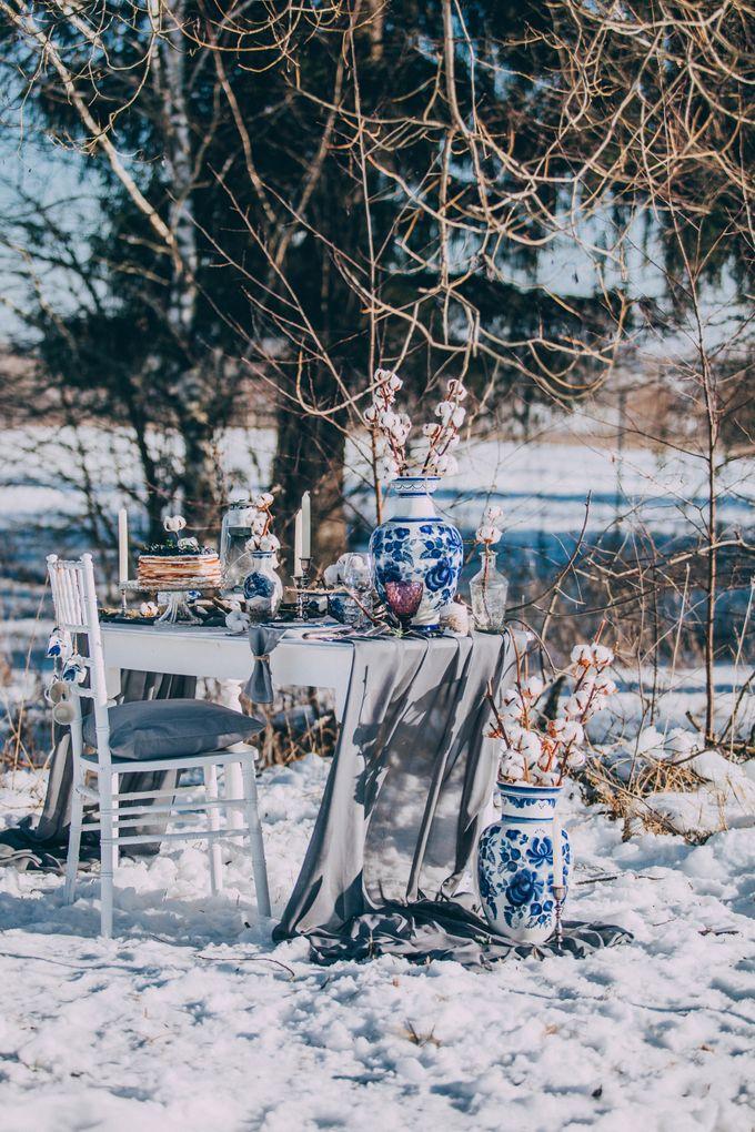 Wedding In Gzhel Style by Marina Nazarova Photographer - 011