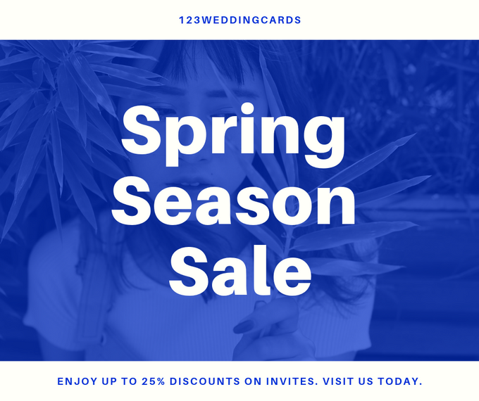 Spring offers by 123WeddngCards by 123WeddingCards - 003