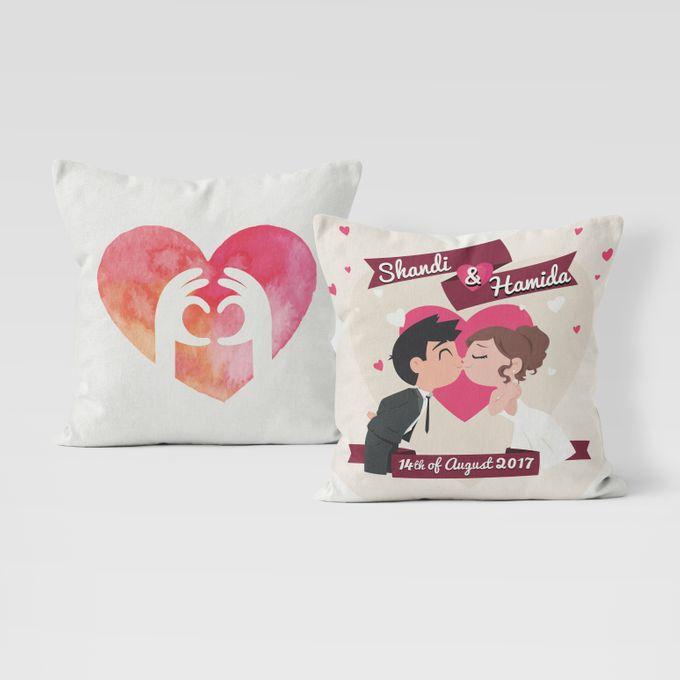 Couple Custom Pillow by Hakuna Pillow Custom - 001