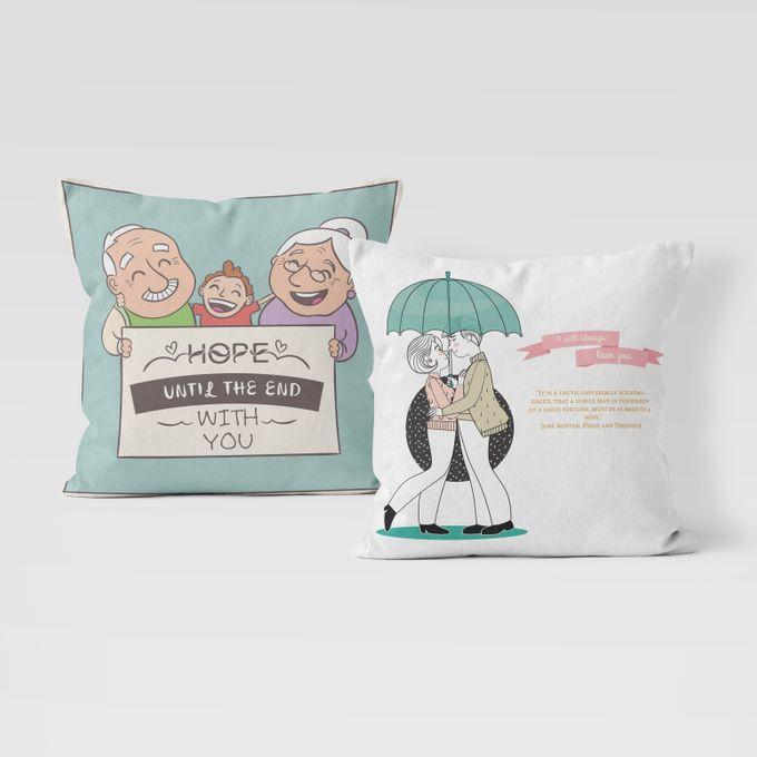 Couple Custom Pillow by Hakuna Pillow Custom - 005