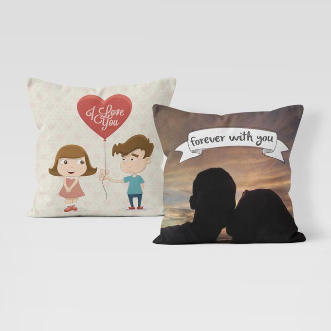 Couple Custom Pillow by Hakuna Pillow Custom - 002