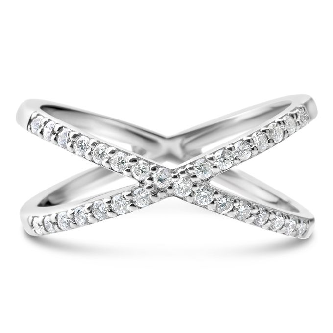 The Bestseller Cross Diamond Ring for Everyday outfit by SQUAREGAL - 001