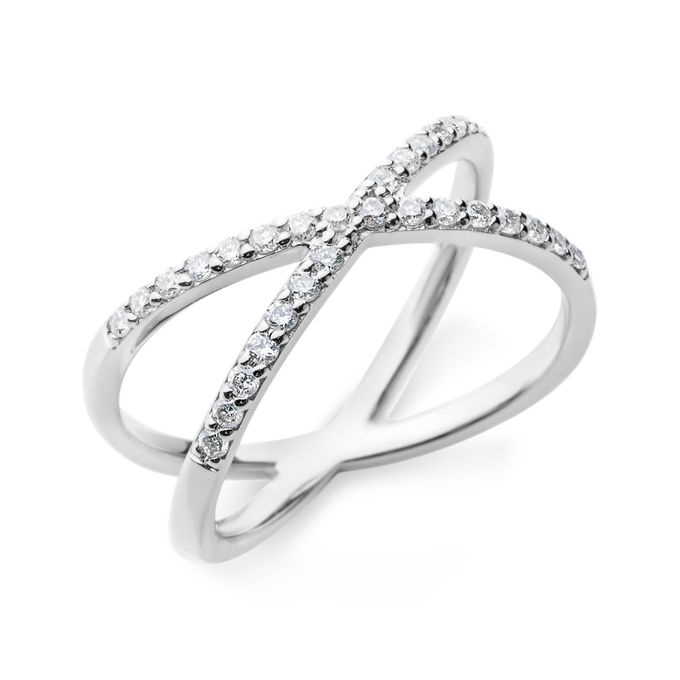 The Bestseller Cross Diamond Ring for Everyday outfit by SQUAREGAL - 002