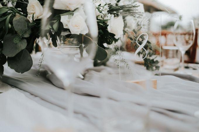 Industrial Grey Bohemian by Sweetbella Florist & Decoration - 002