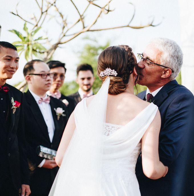 Wedding of Danusia & Marvin by Bali Dynasty Resort - 017