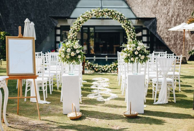 Thomas & Ling Wedding Ceremony&Reception by Bali Becik Wedding - 009