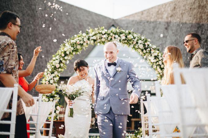 Thomas & Ling Wedding Ceremony&Reception by Bali Becik Wedding - 006