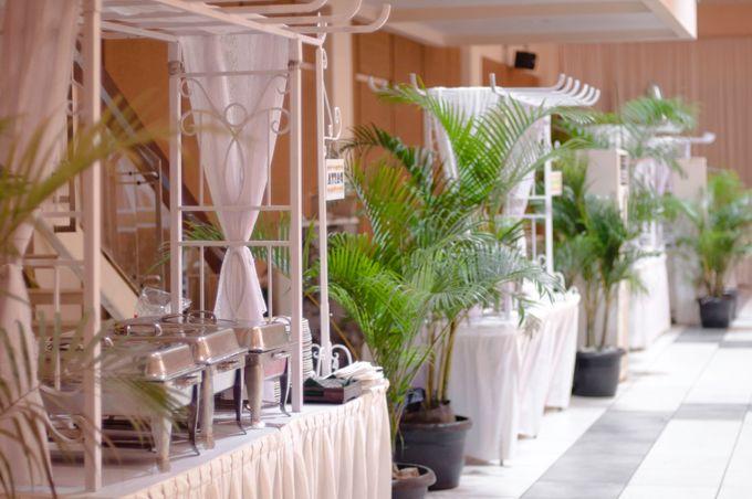 Dekorasi Area Food Stall by Bayam Catering Service Bandung - 001