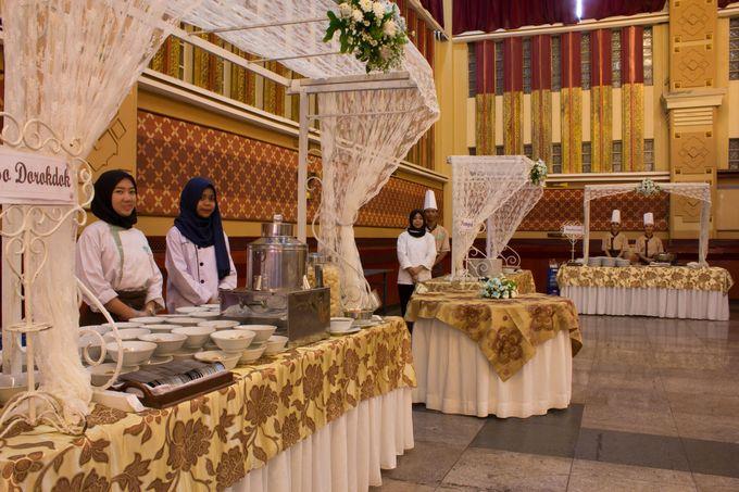 Dekorasi Area Food Stall by Bayam Catering Service Bandung - 003