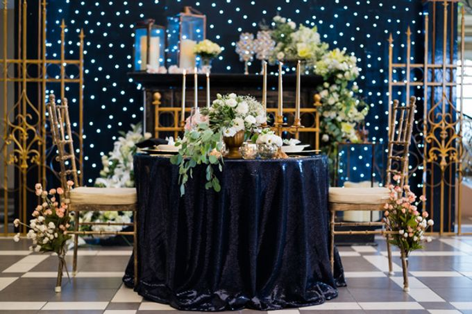 Stargazer Wedding with Bride & Breakfast by Mesclun Events Catering + Styling  - 004